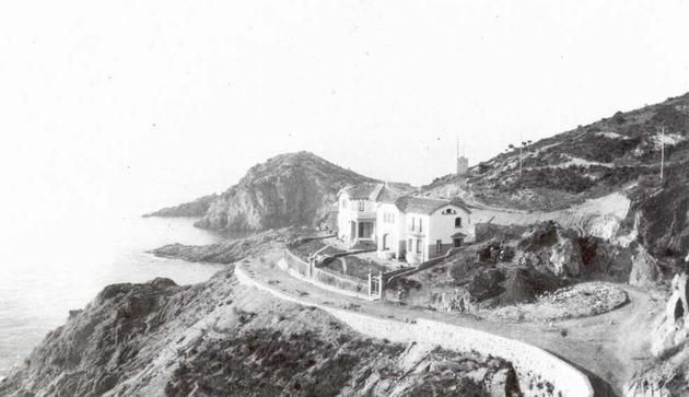 Primers xalets de la urbanització de Sant Elm, 1926 AMSFG. Fons Família Martí (Lluís Martí)