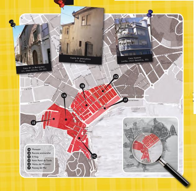 Barris de Sant Feliu de Guíxols - Nucli Històric