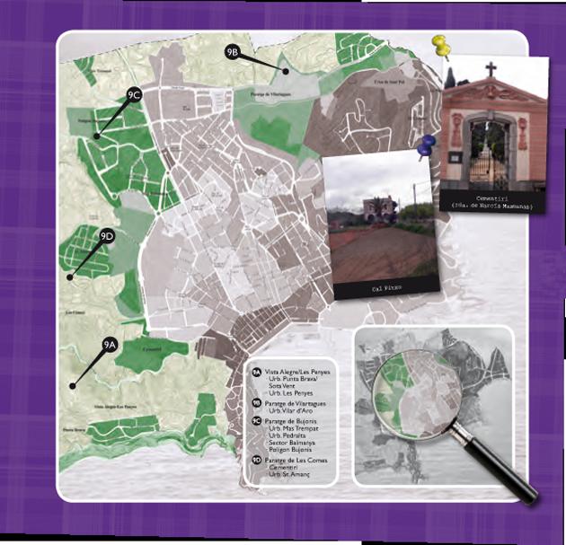 Barris de Sant Feliu de Guíxols - Paratges i Urbanitzacions