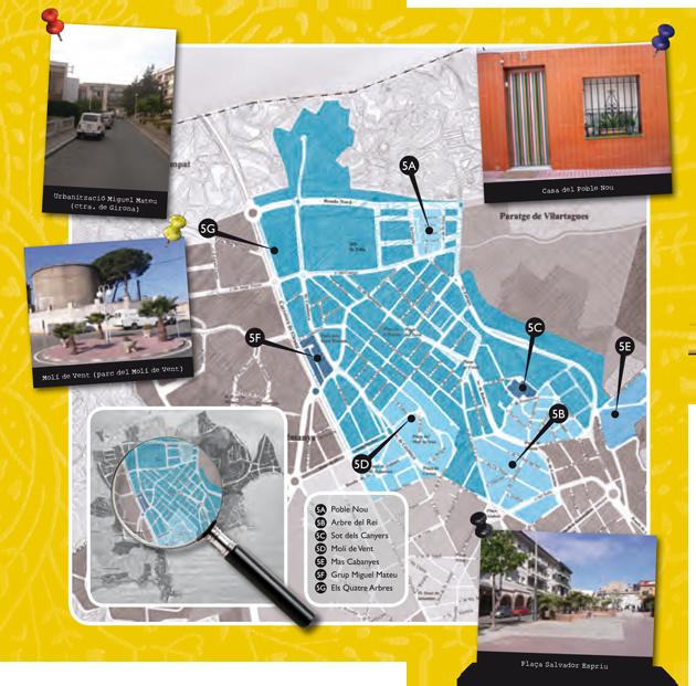 Barris de Sant Feliu de Guíxols - Vilartagues i Tueda de Dalt