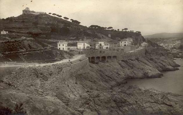 Xalets de Sant Elm cap al 1931 AMSFG. Col·lecció Espuña-Ibáñez (Autor desconegut)