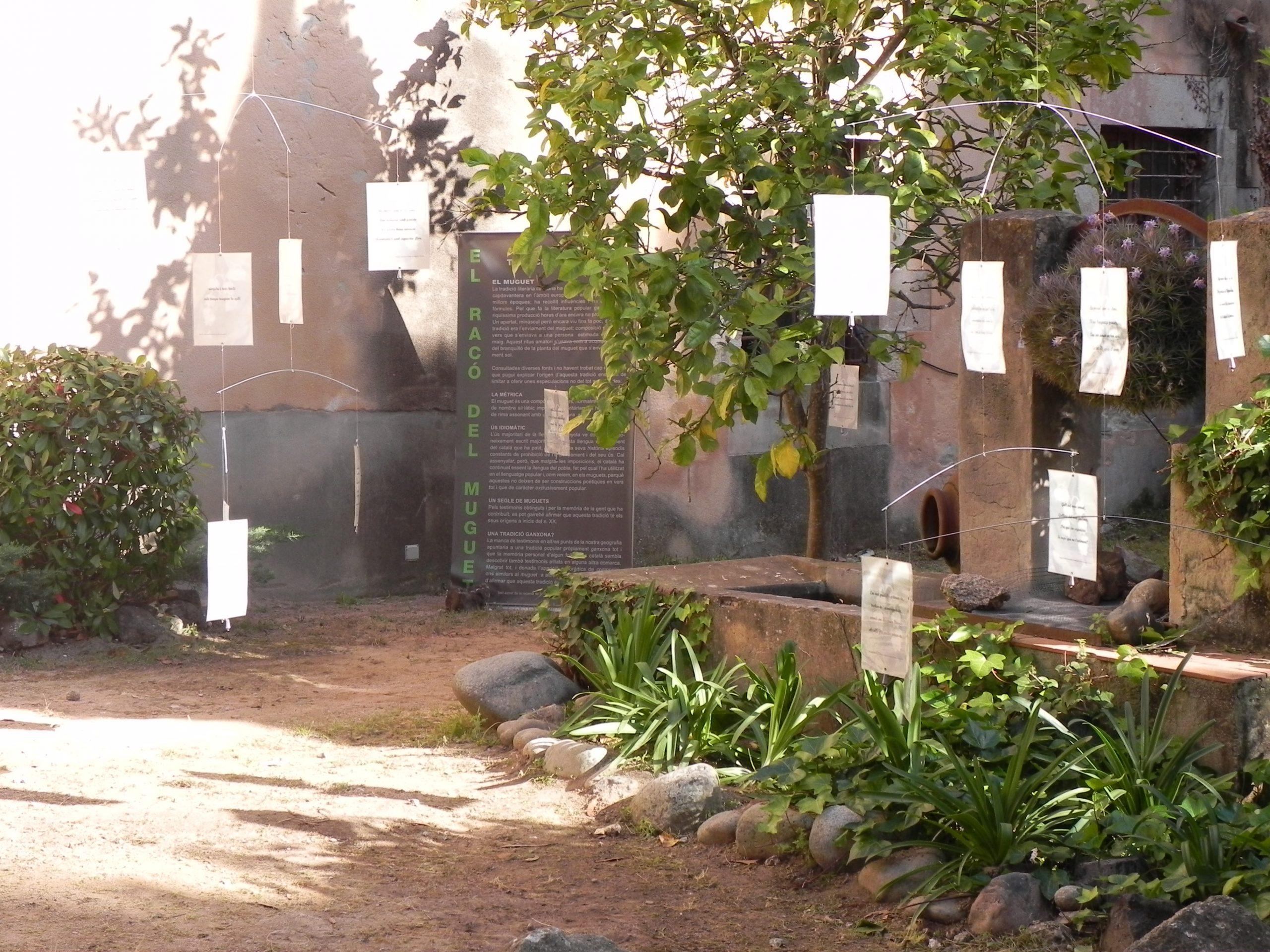 Racó del muguet a l'Hort del Rector (Monestir de Sant Feliu de Guíxols), 2011 Ajuntament de Sant Feliu de Guíxols (Autor: Pere Carreras)