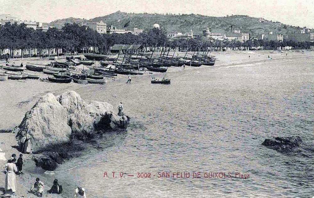 Racó de Garbí cap al 1900 AMSFG. Col·lecció Municipal d'Imatges (Editor: Àngel Toldrà)