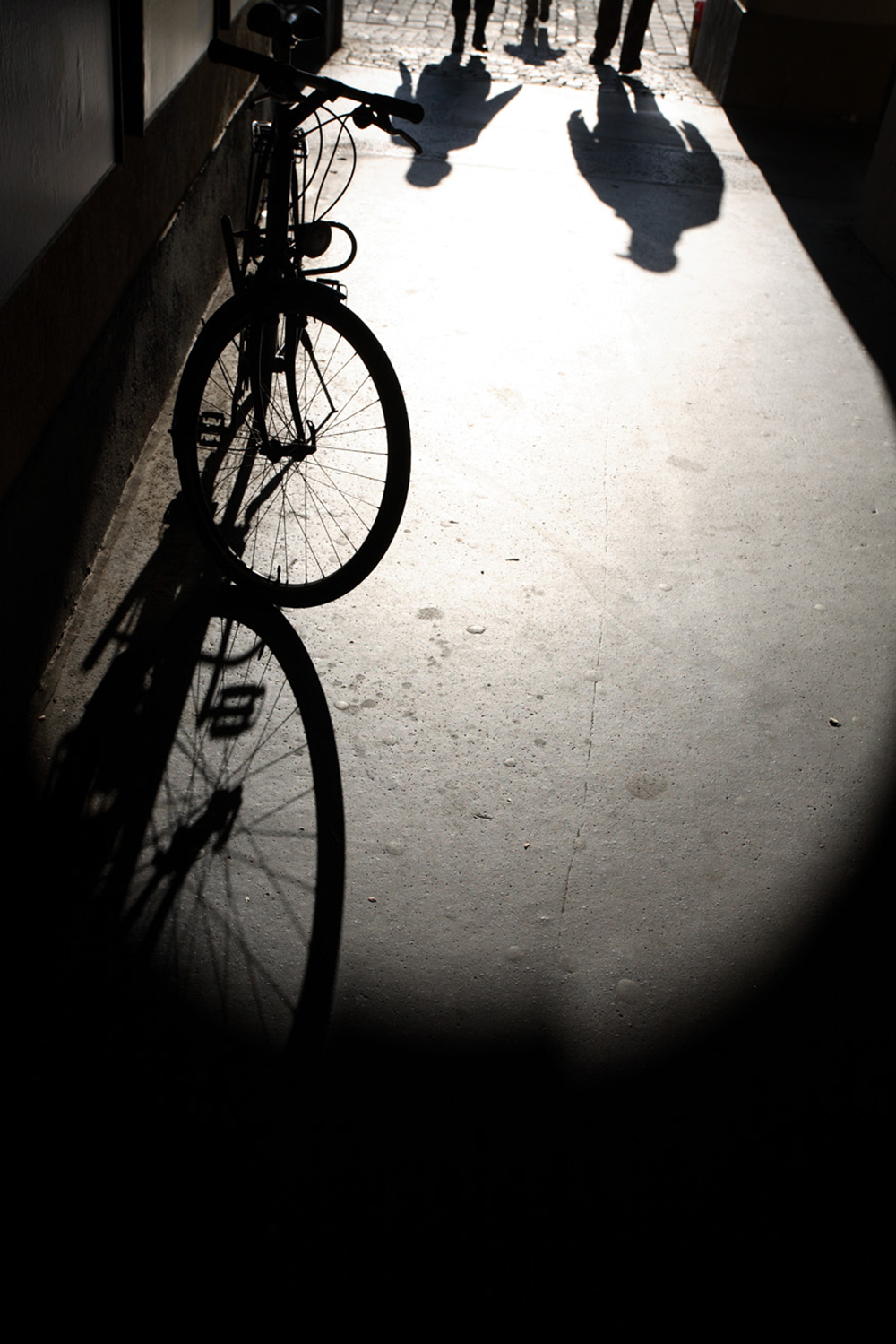 Trevor Skinner Schattenbild - Sóc Sant Feliu de Guíxols