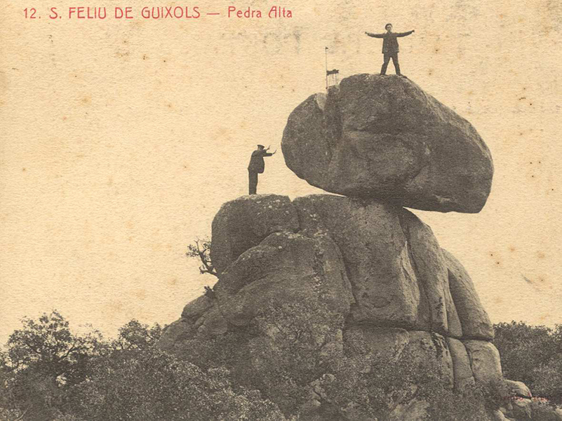 aplec de pedralta destacada - Sóc Sant Feliu de Guíxols