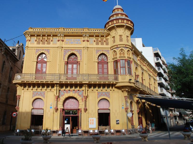 Nou Casino La Constància. Sant Feliu de Guíxols. Mercè Pérez Espinar. 2012.