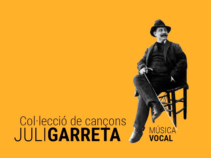 colleccio de cançons juli garreta - Sóc Sant Feliu de Guíxols