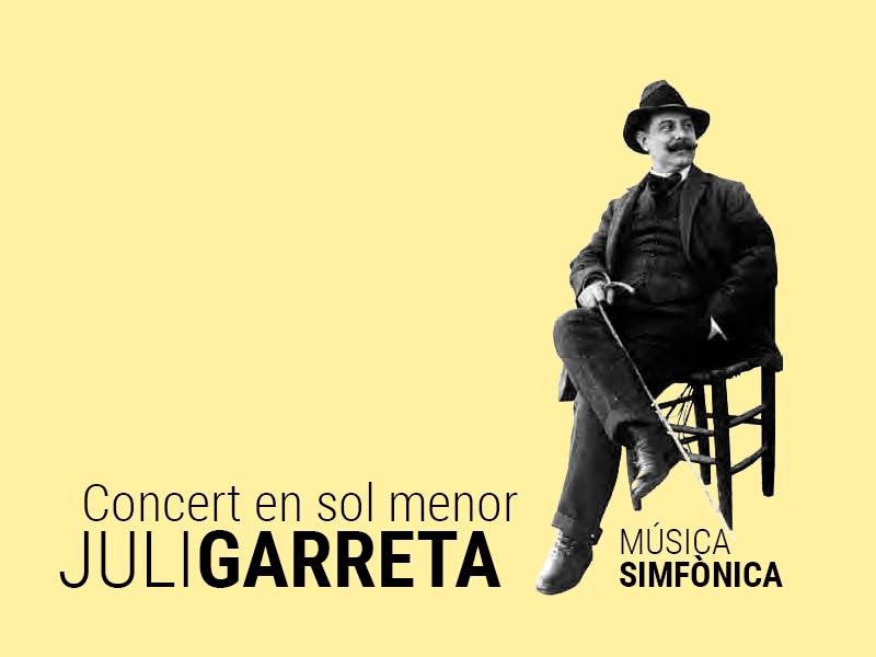 concert en sol menor juli garreta 1 - Sóc Sant Feliu de Guíxols