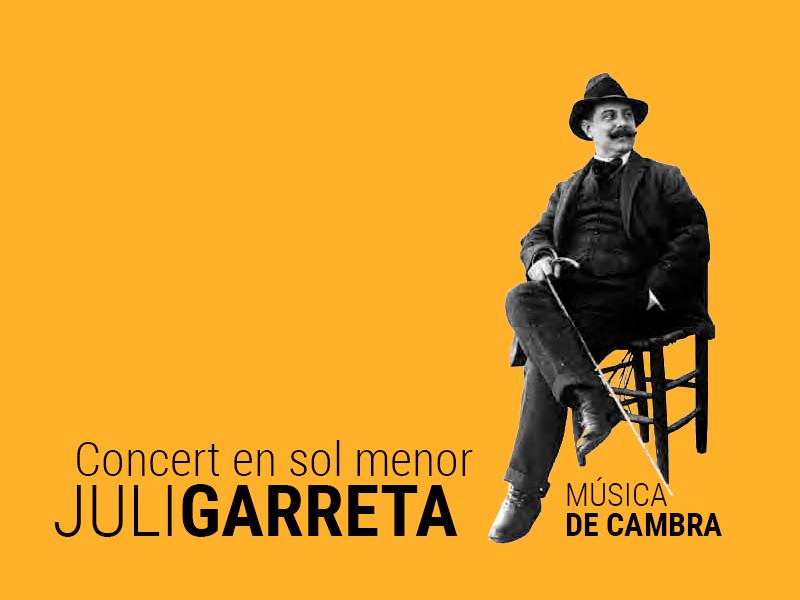 concert en sol menor juli garreta - Sóc Sant Feliu de Guíxols