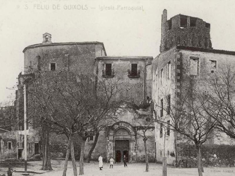 el monestir i el martiri de sant feliu lafricà - Sóc Sant Feliu de Guíxols