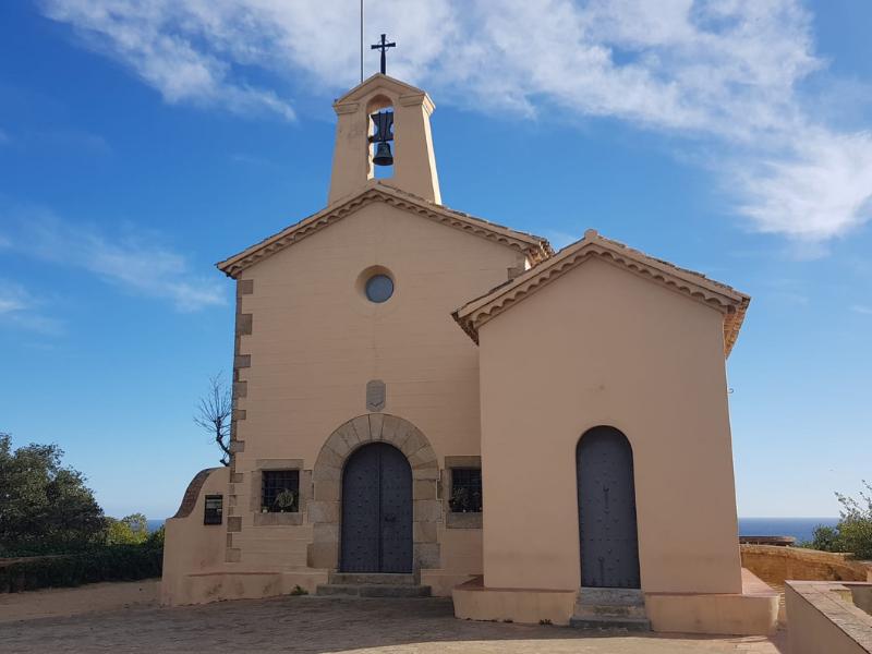 El nom de l'ermita de Sant Elm. Sant Feliu de Guíxols. 2020.