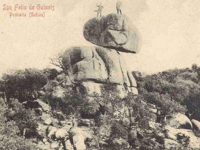 Vista de Pedralta cap al 1900. AMSFG. Col·lecció Municipal d'Imatges (Autor desconegut).