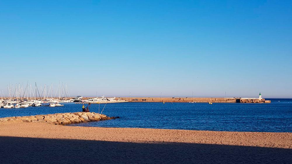 Platja de Sant Feliu. 2020.