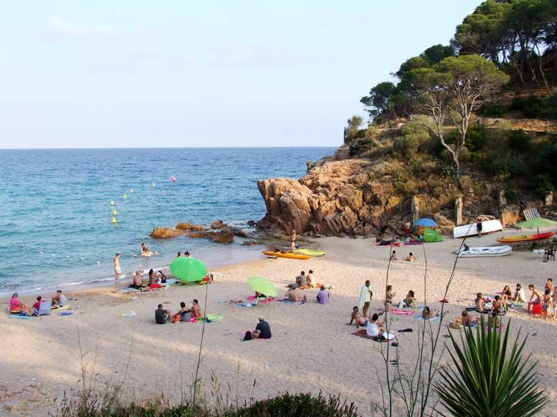 playa canyerets01 - Sóc Sant Feliu de Guíxols