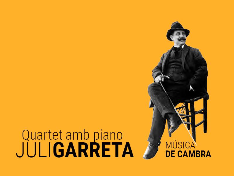 quartet amb piano juli garreta - Sóc Sant Feliu de Guíxols