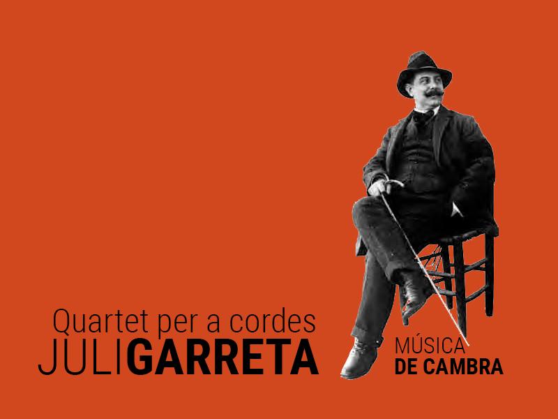 quartet per a cordes juli garreta - Sóc Sant Feliu de Guíxols