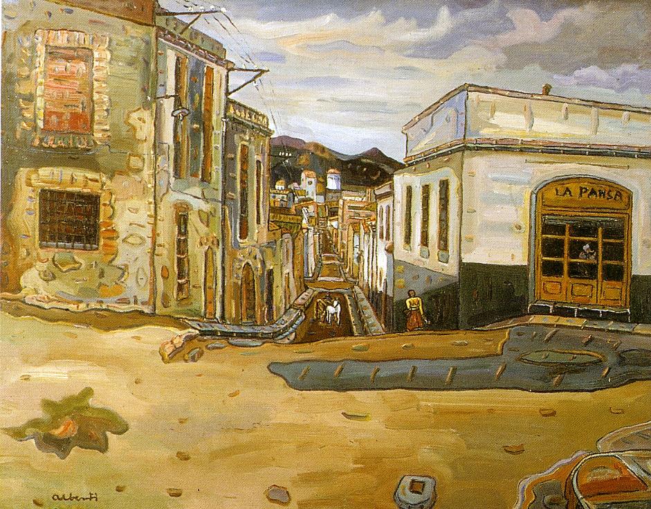 La Pansa. 1956. Oli/tela. 65x81 cm. Museu d'Història de la Ciutat. Sant Feliu de Guíxols