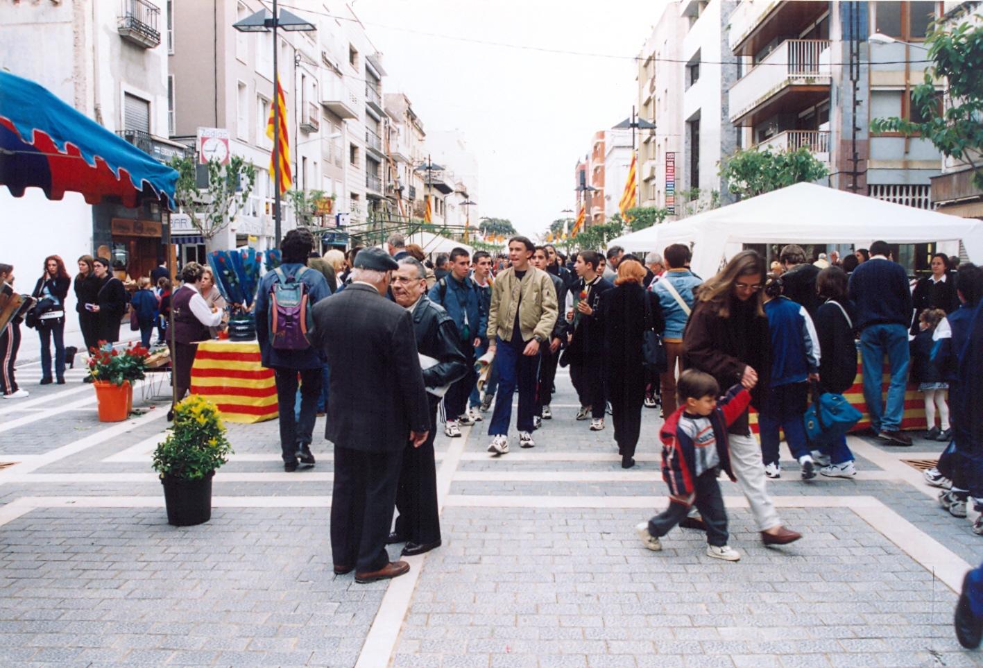 Vista de la rambla Vidal per Sant Jordi, 1998 AMSFG. Col·lecció Municipal d'Imatges (Autor desconegut)