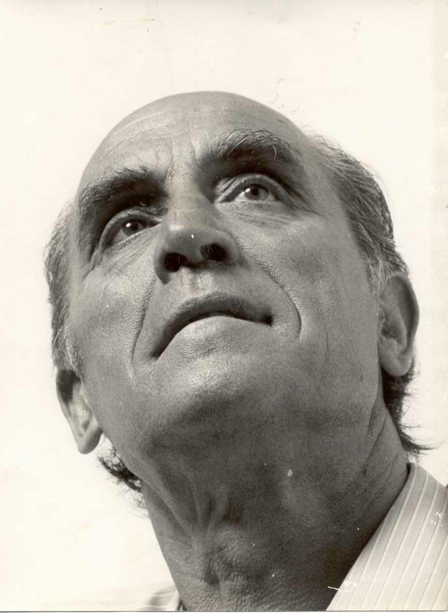 Retrat de Josep Albertí a principis dels 60 AMSFG. Fons Josep Albertí Corominas (autor desconegut)
