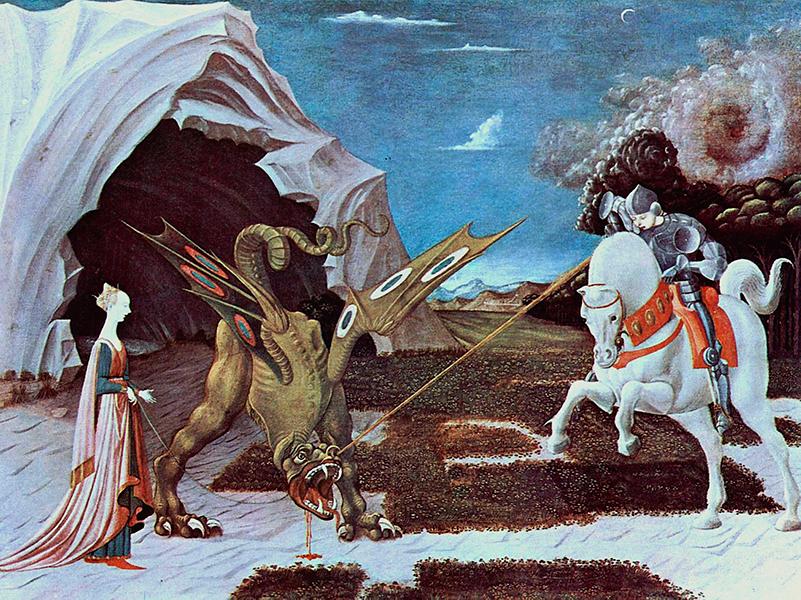sant jordi i el drac - Sóc Sant Feliu de Guíxols